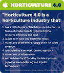 Show the industry your solution for Horticulture 4.0